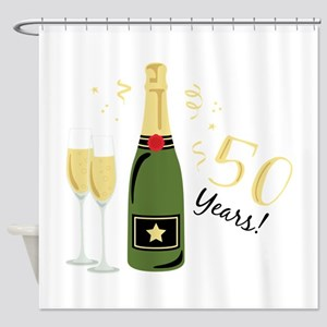 50 Years Shower Curtain